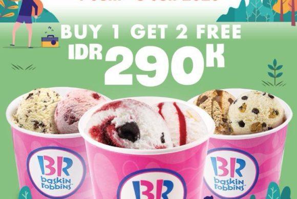 Buy 1 Get 2 Free Baskin Robbins