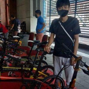 Ada Sepeda Klasik hingga Sepeda Listrik di  Bazaar Sepeda di Mangga 2 Square