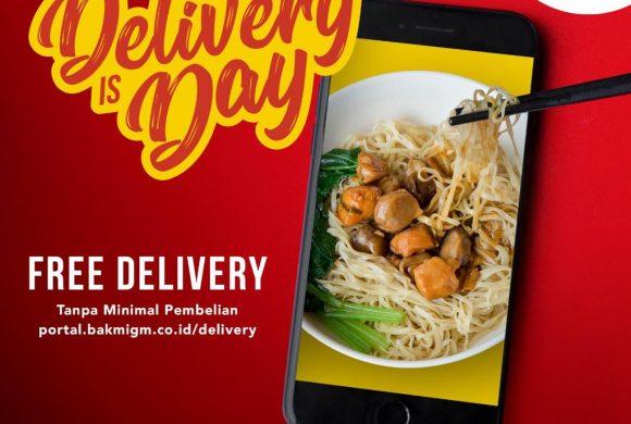 Bakmi GM Free Delivery