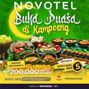 Novotel Buka Puasa di Kampoeng