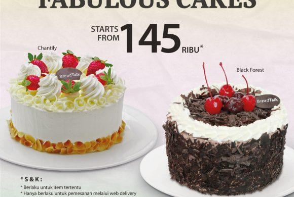 Breadtalk, Fabulous Cakes