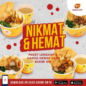 Nikmat & Hemat bersama Bakmi GM