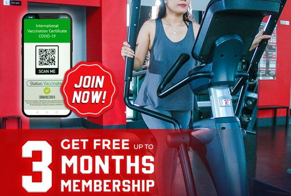 PROMO #VaccineAction GET FREE UP TO 3 MONTHS – Osbond Gym