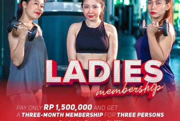 Promo Ladies Membership – Osbond Gym